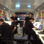 Medhurst team on bus