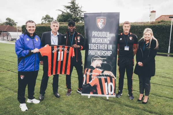 Medhurst and AFC Bournemouth help launch the Premier League Primary Stars campaign