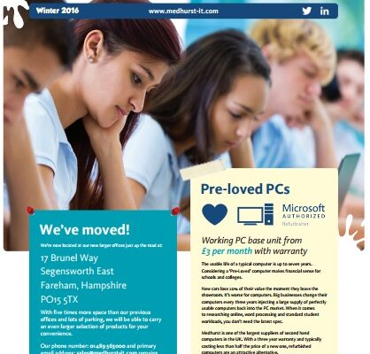 Download our latest Education Update Newsletter