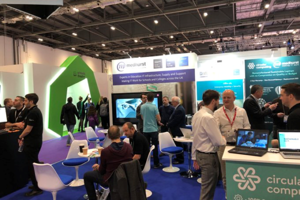 See the video of another fantastic year at the Bett Show 2018 with HPE