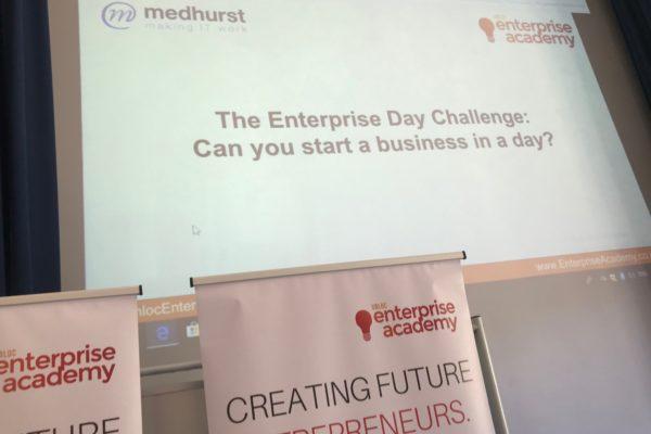 Medhurst Sponsors Unloc Enterprise Academy Day at Brookfield Community School
