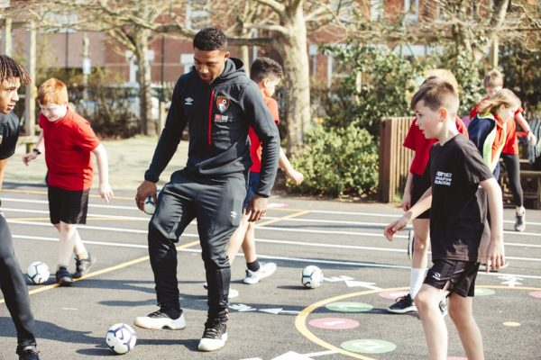 AFCB Players join in Medhurst Sponsored Premier League Primary Stars Programme