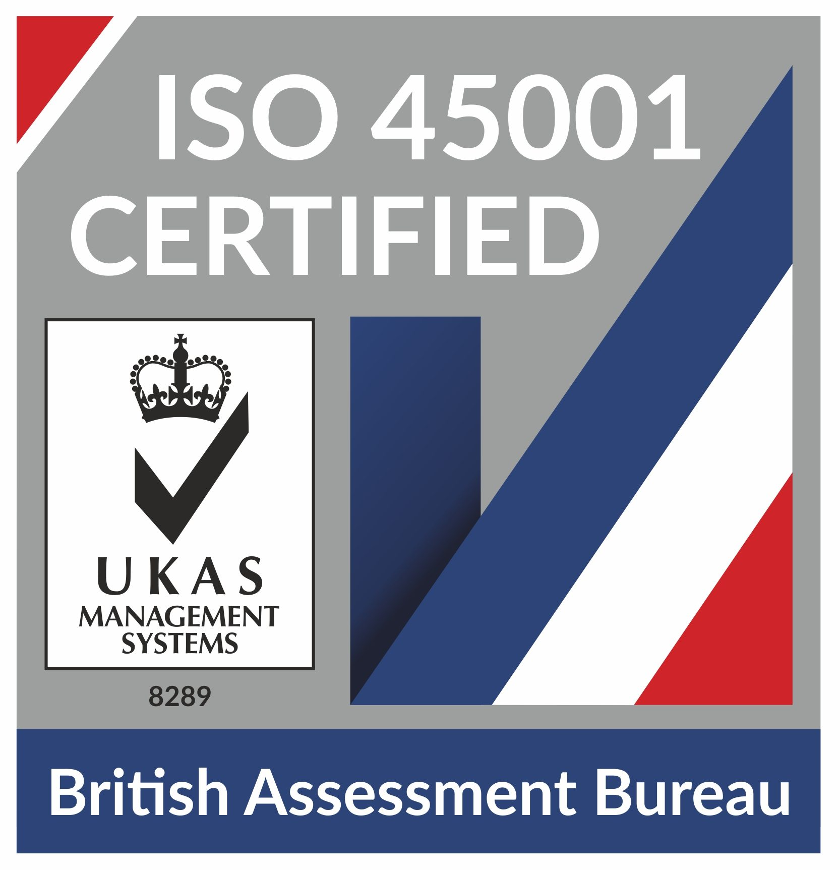 We've added ISO 45001:2018 Certification to our list of Corporate Accreditations