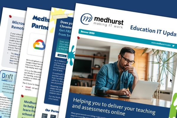 Download your copy of our Summer Education IT Update 2020