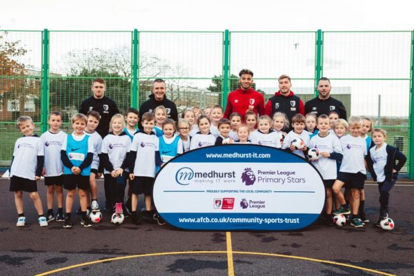 Medhurst Supports AFC Bournemouth's Premier League Primary Stars project for 2020/2021 Season