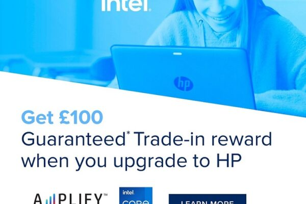 Get £100 Guaranteed Trade-in reward when you upgrade to a new HP device!